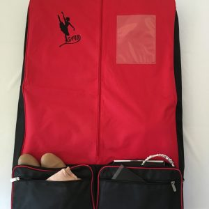 AMD Garment Bag – Red and Black