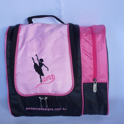 AMD Cosmetic and Hair Accessories Bag – Pink and Black