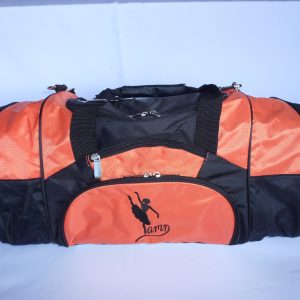 AMD Dance Bag – Orange and Black ~ Ballet Logo