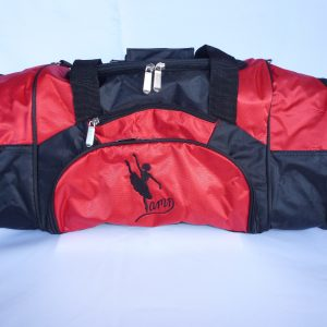 AMD Dance Bag – Red and Black ~ Ballet Logo