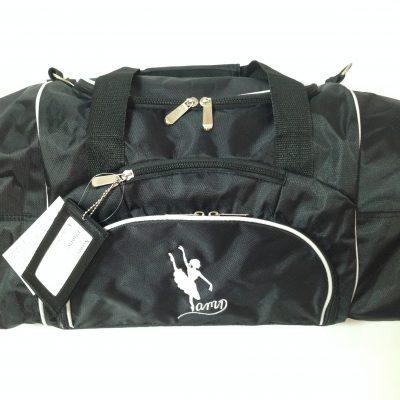 AMD Dance Bag – Black with White Trim ~ Ballet Logo