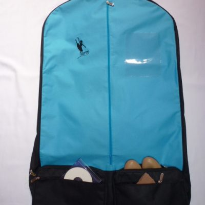AMD Costume Bag ~ Aqua and Black