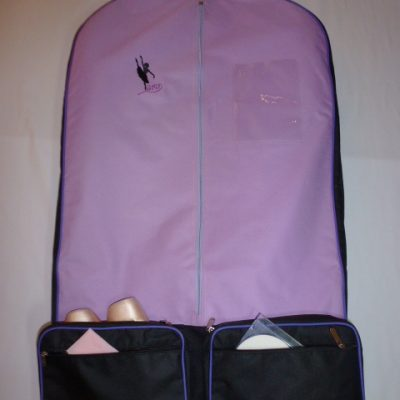 AMD Costume Bag ~ Purple and Black