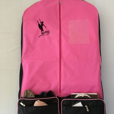 AMD Costume Bag ~ New Pink and Black