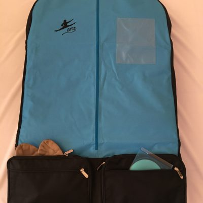 AMD Male Costume Bag ~ Aqua and Black ~ Male Logo