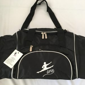 AMD Dance Male Bag – Black with White Trim ~ Male Logo