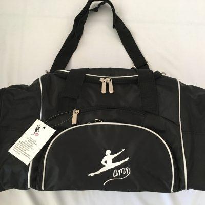 AMD Dance Male Bag – Black with White Trim ~ Male Logo