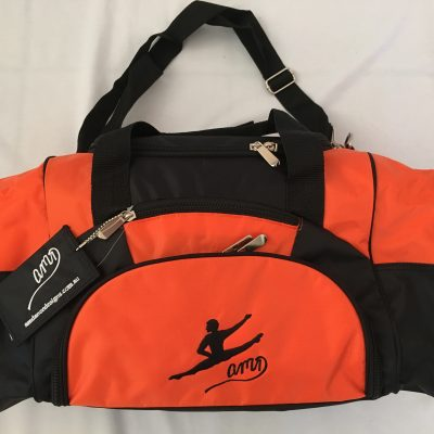 AMD Male Dance Bag – Orange and Black ~ Male Logo