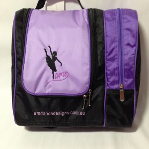 AMD Cosmetic and Hair Accessories Bag – Purple and Black