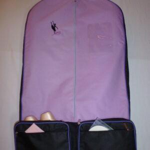 AMD Costume Bag ~ Purple and Black