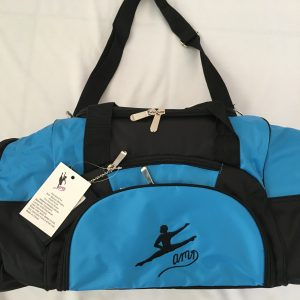 AMD Male Dance Bag – Aqua and Black ~ Male Logo